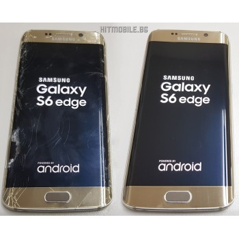 Сервиз : Ремонт на дисплей за Samsung S6 Edge Цена 100лв.
