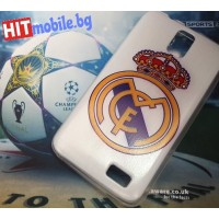 CASE REAL MADRID силиконов твърд  за SAMSUNG GALAXY : NOTE 4 , GRAND , S2 , S2+ , J1 , A5 , TREND 2 , ACE 4 , S DUOS , CORE PRIME , CORE 4G ,  XCOVER 3 ,