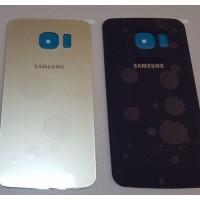 Стъклен Заден Капак за Samsung Galaxy S6 Edge G925 Бял / Син / Златен Цена : 20лв.