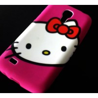 CASE hello kitty силиконов гръб за SAMSUNG GALAXY S4 mini i9190 / i9195