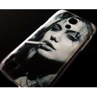 CASE angelina jolie твърд гръб за SAMSUNG GALAXY S4 mini i9190 / i9195