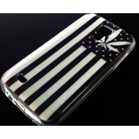 CASE MARIHUANA твърд гръб за SAMSUNG GALAXY S4 MINI i9190 / i9195
