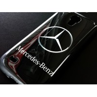 CASE Mercedes силиконов гръб за SAMSUNG GALAXY S4 MINI i9190 / i9195