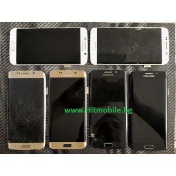 СЕРВИЗ : Смяна на Стъкло на Samsung S6 Edge Цена 100лв.